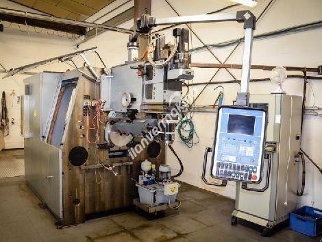 CNC Tel Bükme ve Yay Makinesi