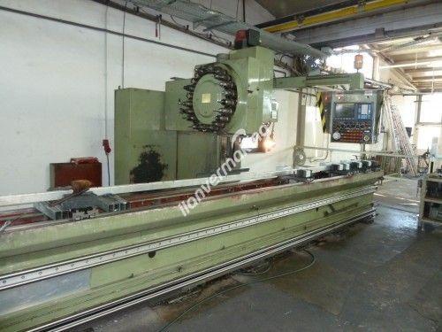CNC Uzun Yataklı Profil işleme Freze Makinesi