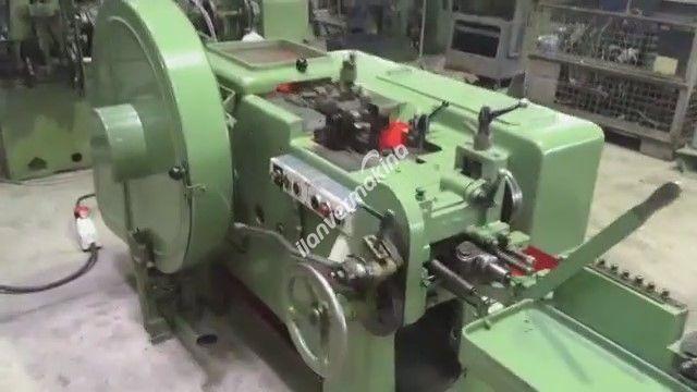 Çift Vuruşlu Perçin Civata Makinesi