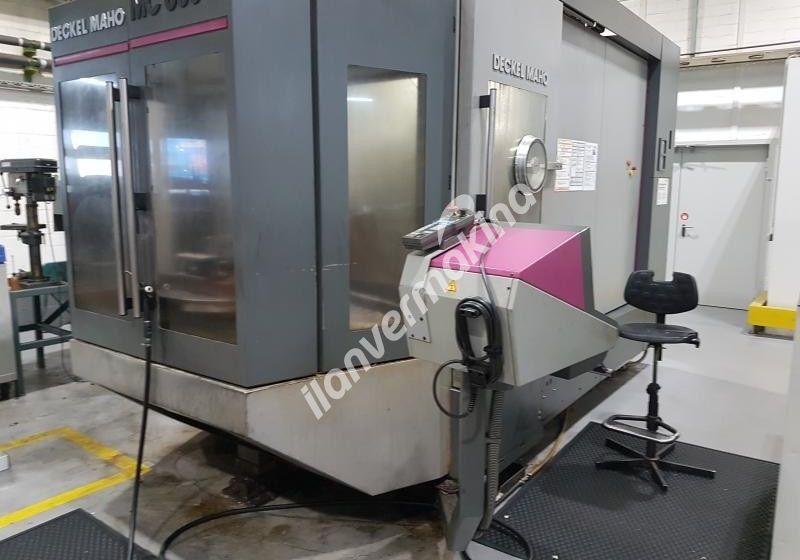 Deckel Maho CNC Dik İşleme Merkezi