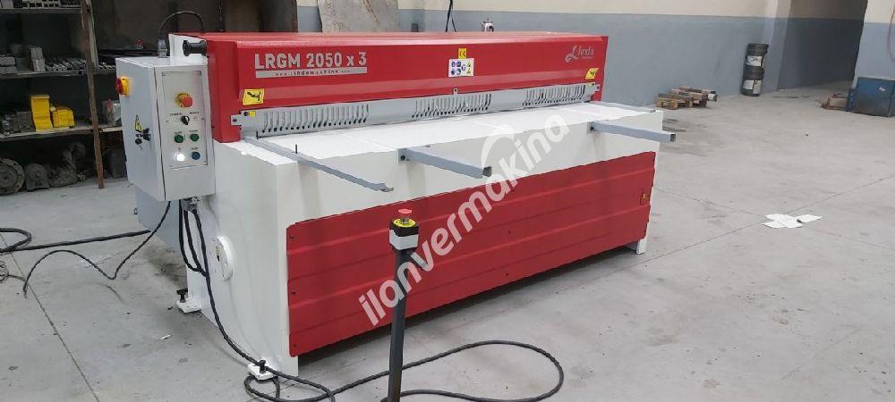 LRGM 2050 x 3mm Linda Machine Rediktörlü Giyotin Makas