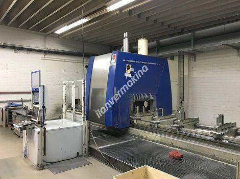 5 Eksenli CNC Uzun Yataklı Profil işleme Freze Makinesi