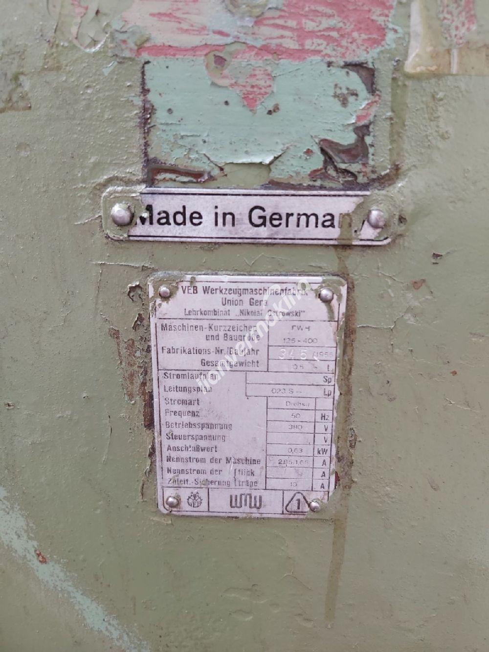 Alman UMO Üniversal Freze