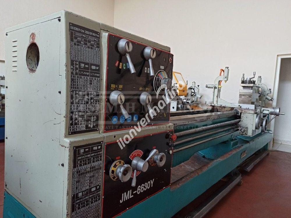 3 Metre 660 Çap Jetco (Monoblok) Üniversal Torna Tezgahı