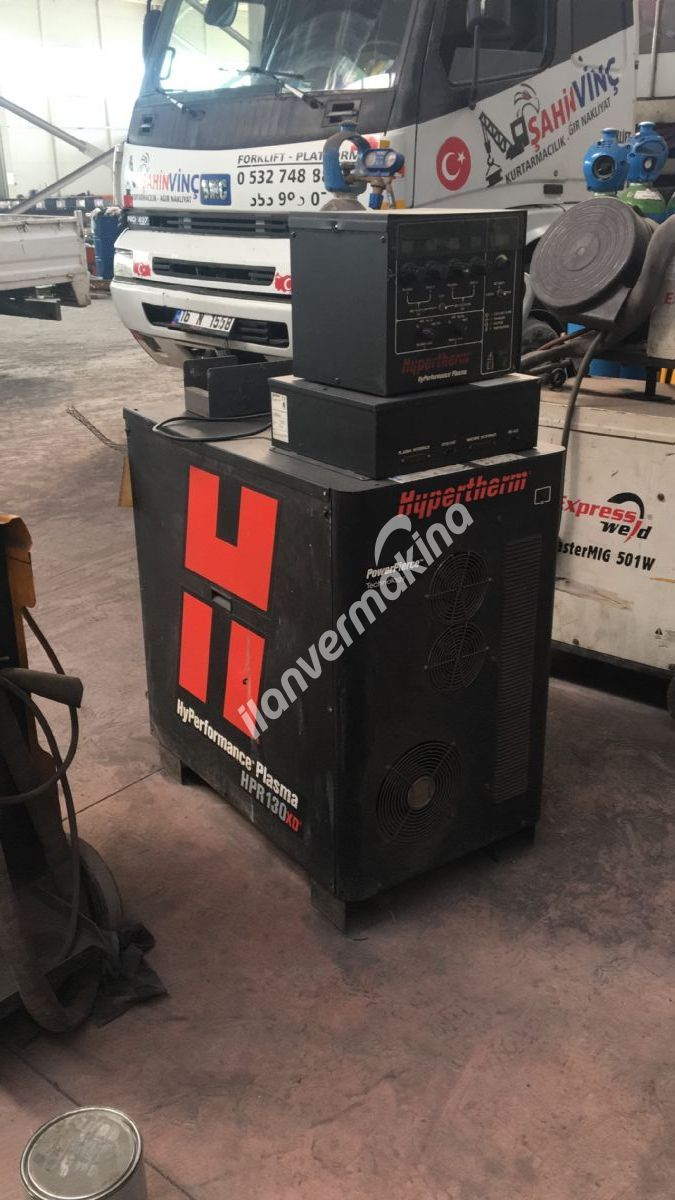 Takasa uygun NUKON Plazma 3000x8000 130 amper