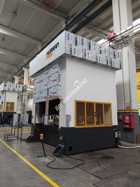 750 Ton Hürsan Form Presi Tabla 3250 x 2000