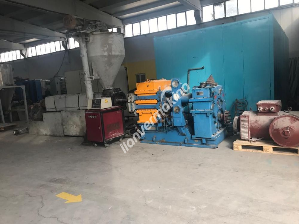 PVC Granulation/Recycling Line Twin Screw Extruder