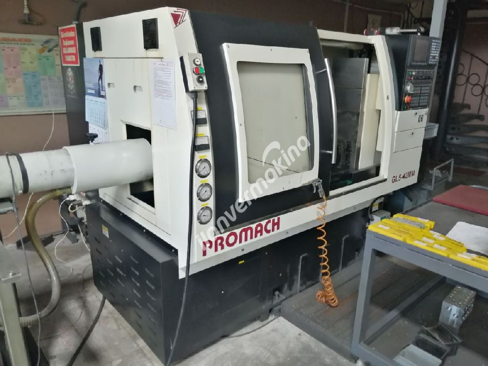 PROMACH Automatic Lathe GL5-42MM CNC TORNA TEZGAHI