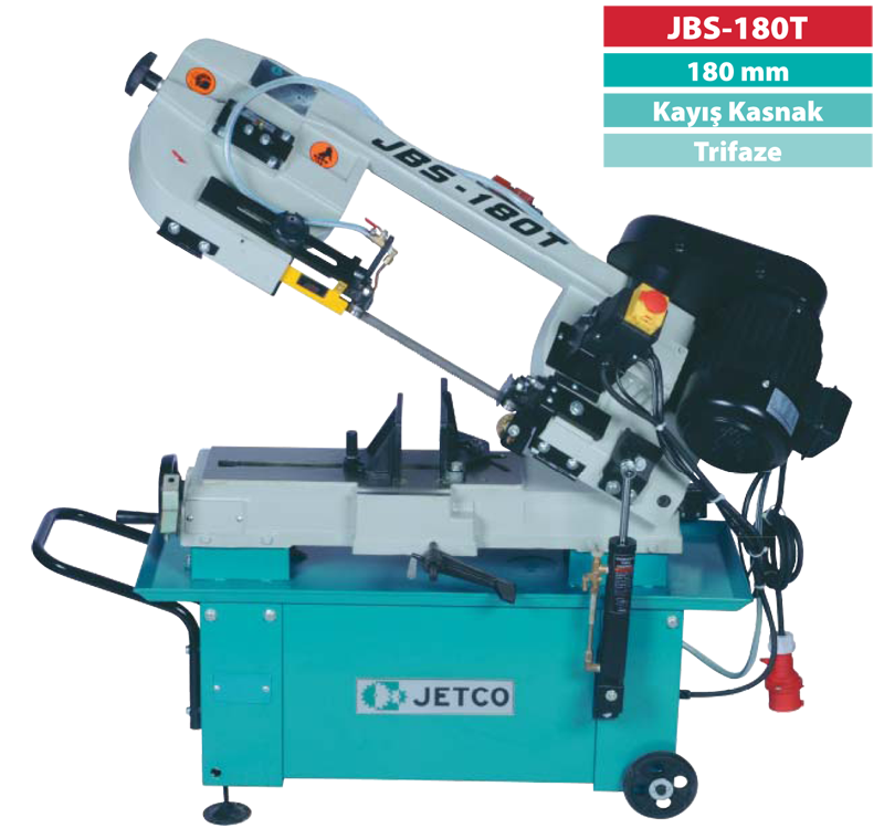 Jetco JBS-180T Metal Şerit Testere (Trifaze)