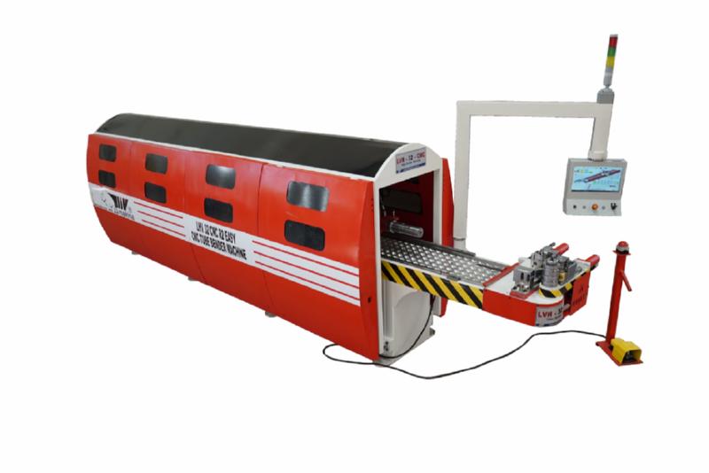 32 CNC 5 Eksen Malafasız Boru Bükme Makinası