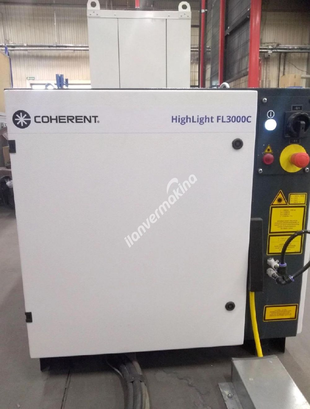 Laser FIBER LVD ELECTRA FL-3015