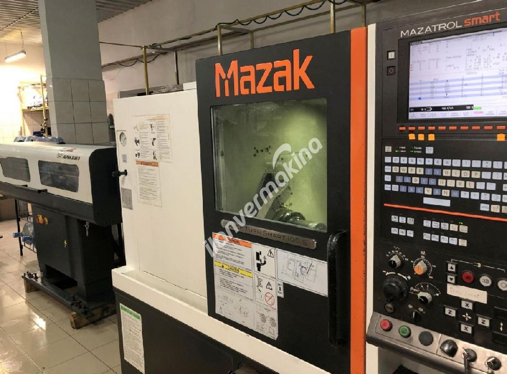 CNC MAZAK QUICK TURN SMART QT 100 S Torna