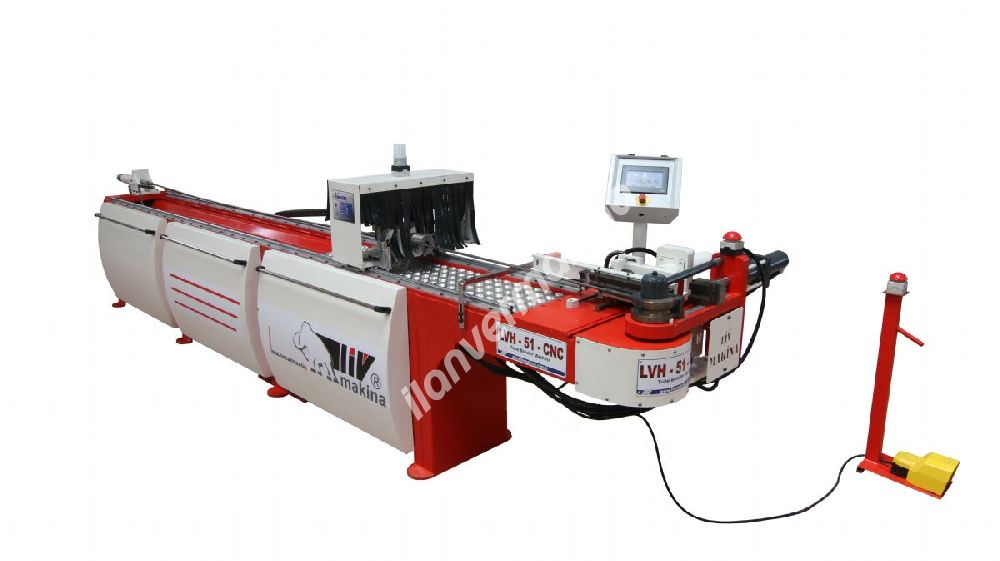 LVH SEMI CNC Boru Bükme Makinası