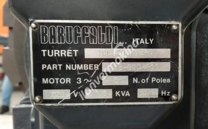 Baruffaldi 12 Takım Servo Taret