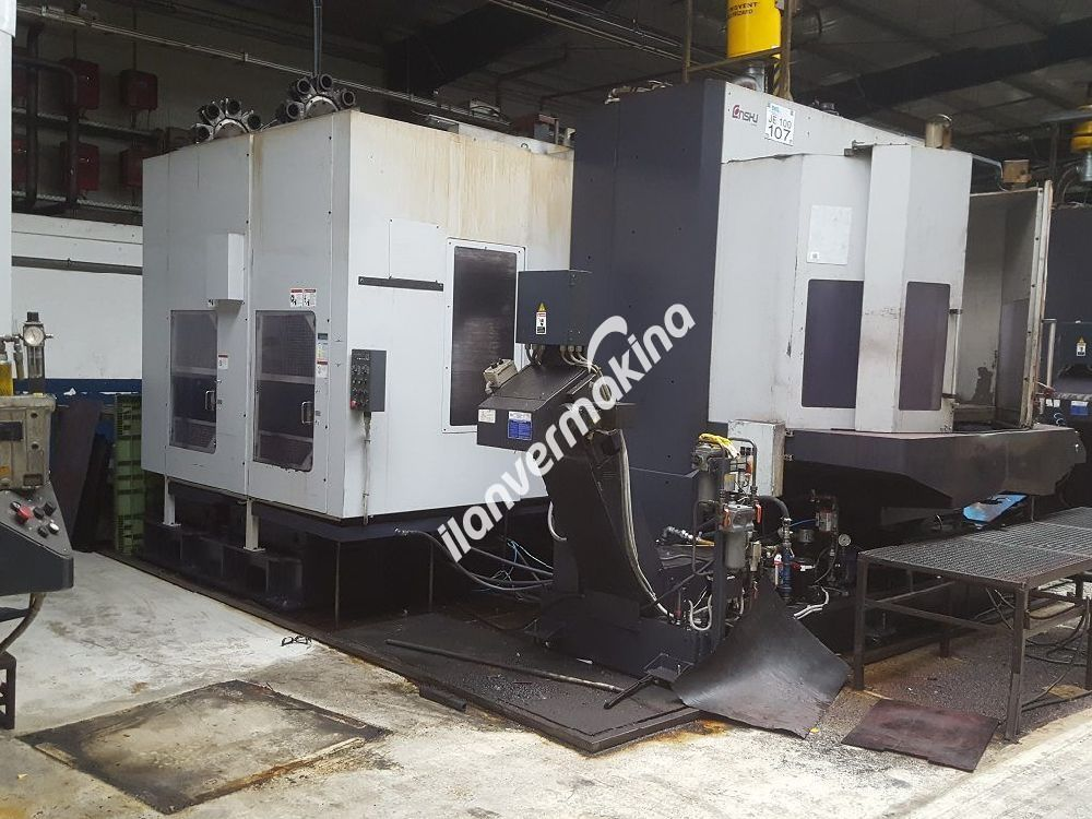 CNC Horizontal Machining Center Enshu JE100
