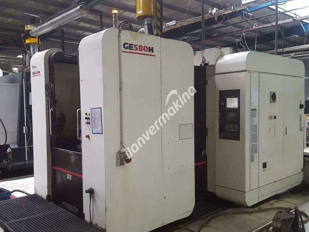 CNC Horizontal Machining Center Enshu GE580H - 4 axes