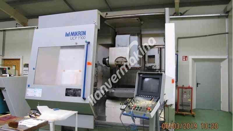 CNC Machining Center Mikron UCP 1000