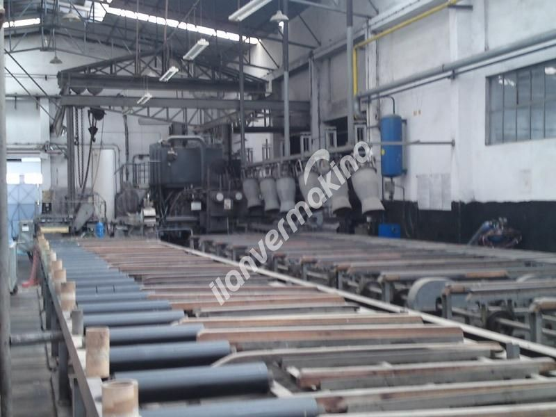 Aluminyum Ekstrüzyon Pres 1600 Ton