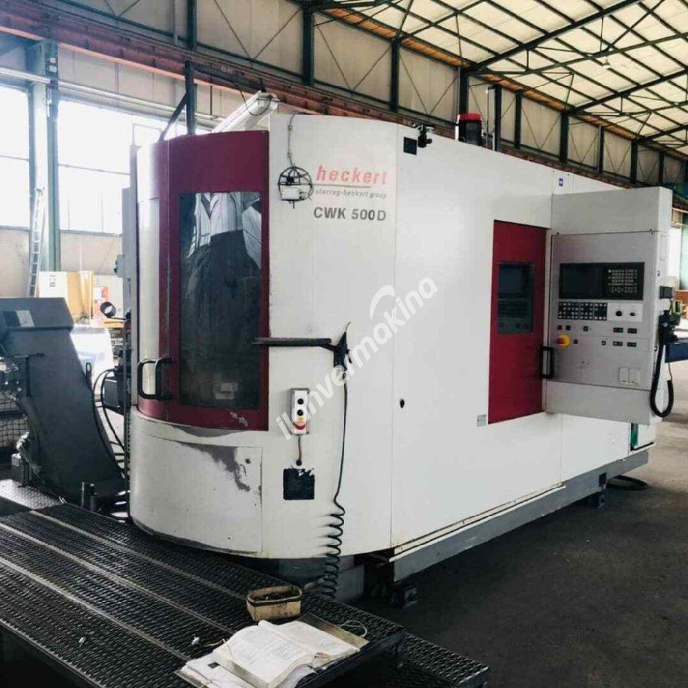 CNC Horizontal Machining Center Starrag Heckert CWK 500 D