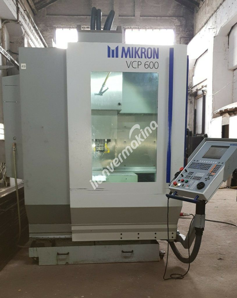 CNC Machining Center  Mikron VCP 600-HS