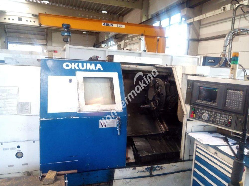 CNC Lathe Okuma LB 25 II-C