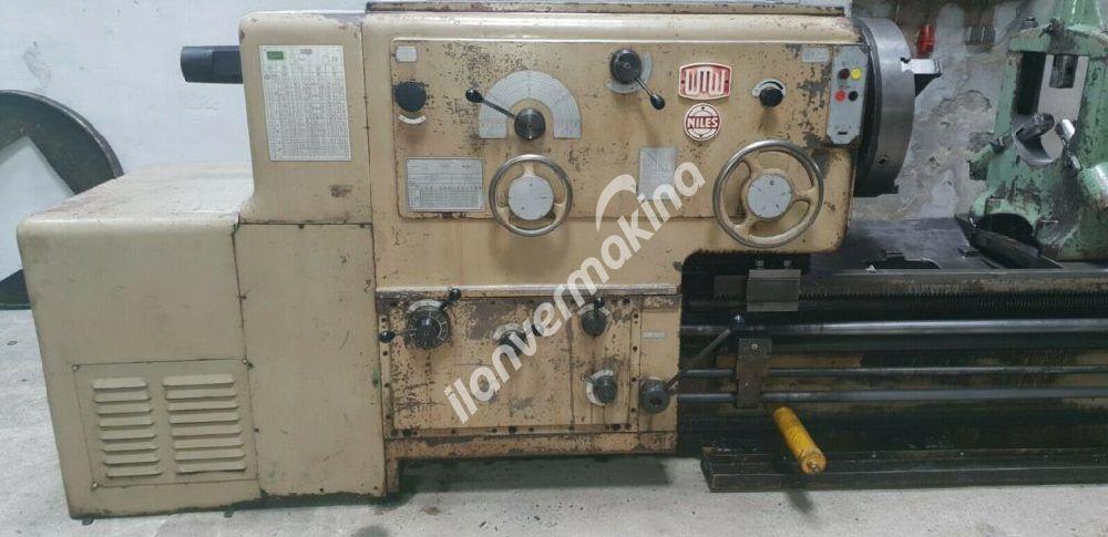 Heavy Lathe WMW Niles DLZ 1000 III 5000 Universal Torna