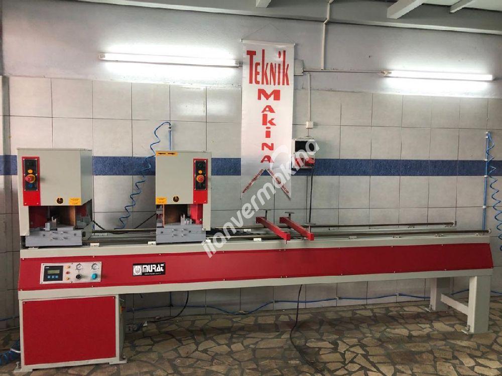 Çift Köşe Kaynak Makinası Pvc Makinaları