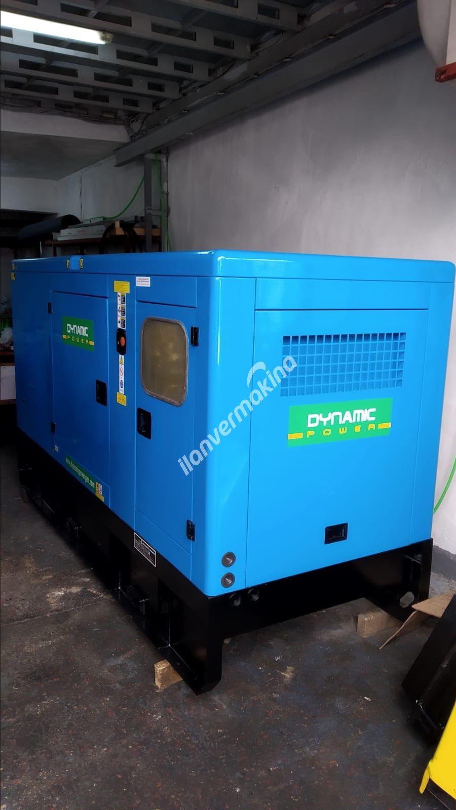 165 kVA Dynamic Power dizel jeneratör ikinci el