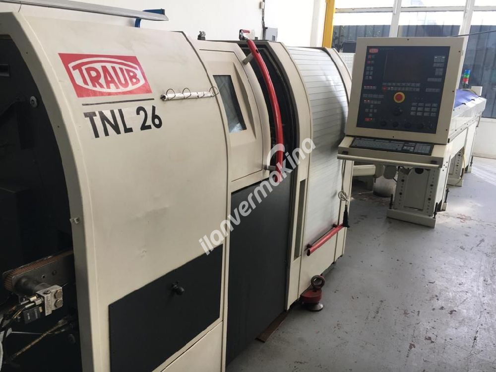 Traub TNL 26 CNC Kayar Otomat