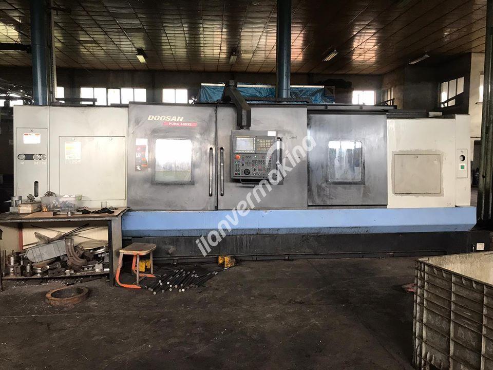 DOOSAN CNC Torna 2012 Model 21 İnç x 4000 mm