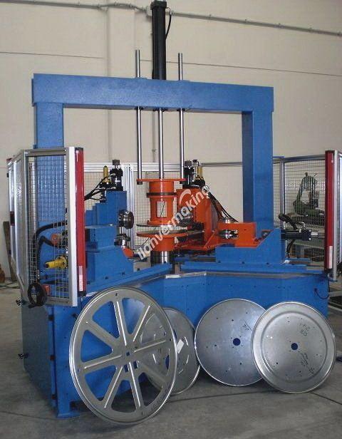 Kablo Makaraları ve Tamburları için Makine