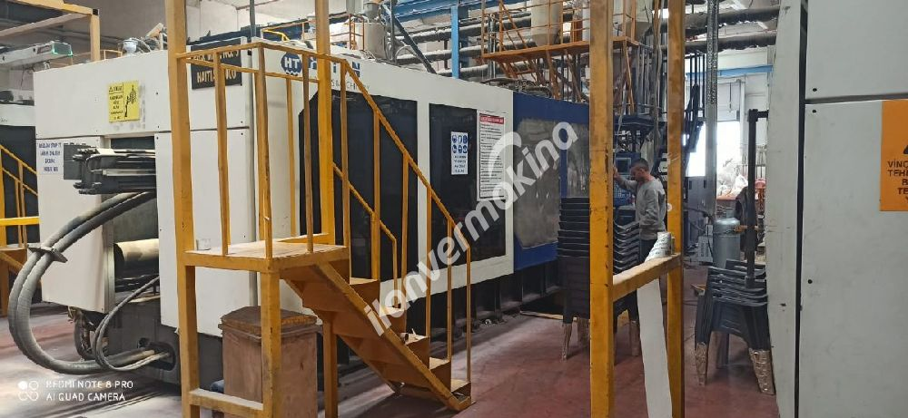 2012 MODEL 1000 TON HAITIAN PLASTİK ENJEKSİYON