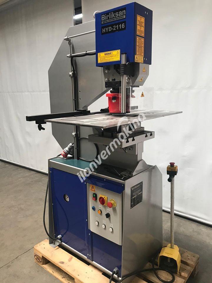 Hidrolik Zımba Makinası HYD 2116DB