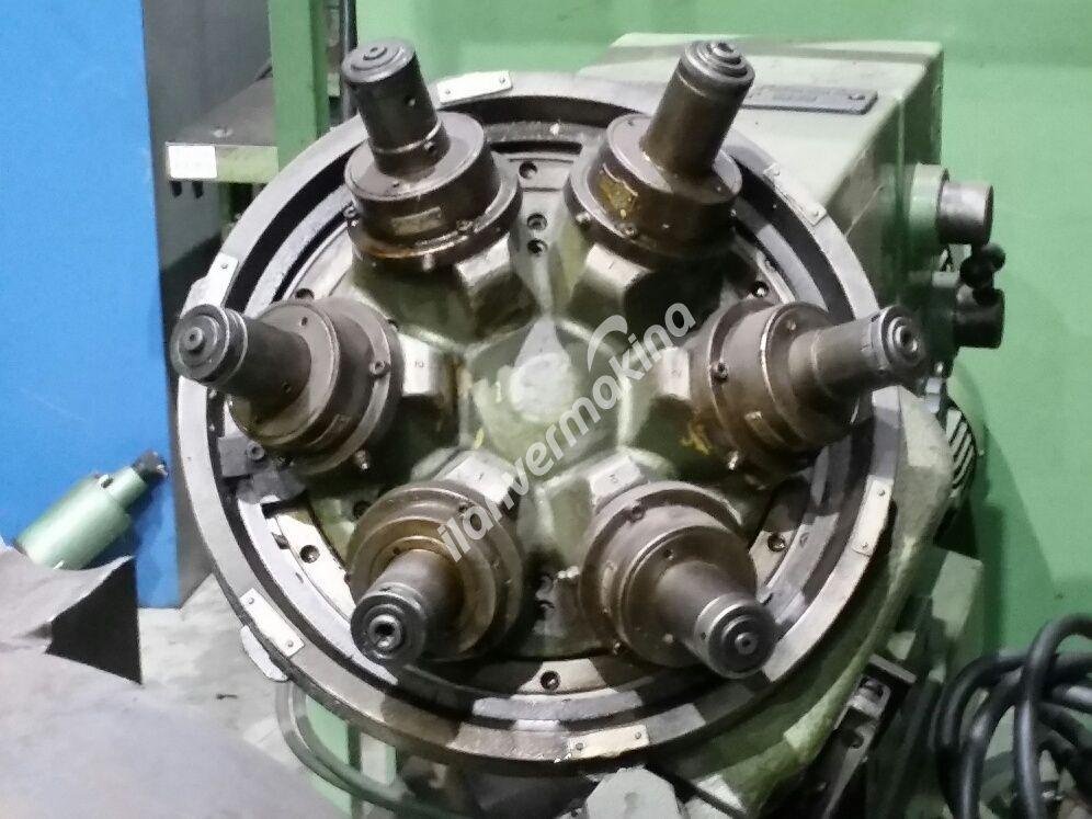 6x Kafalı Borverk Makinesi