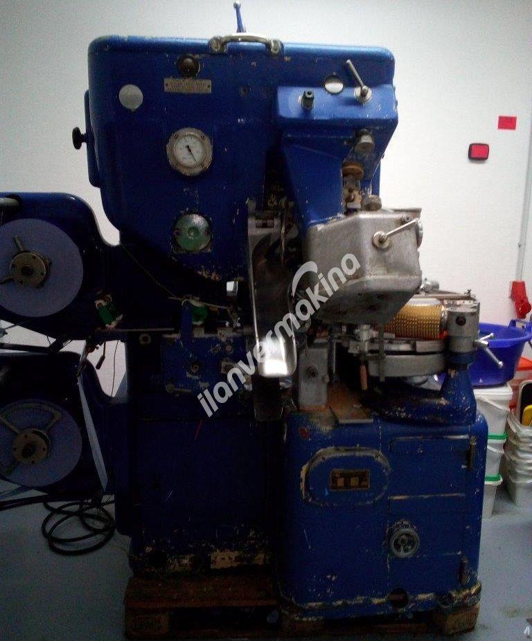 Çift Büküm Şeker Bonbon Sarma Paketleme Makinesi