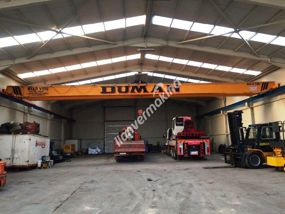 5 ton 20 metre tavan vinç
