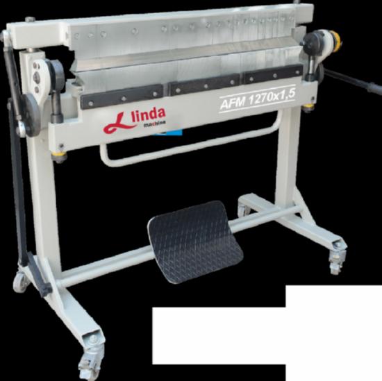 1270 x 1,5mm Parça Bıcaklı Caka Kenet Makinası/Folding Clamping Machine with Part Knife