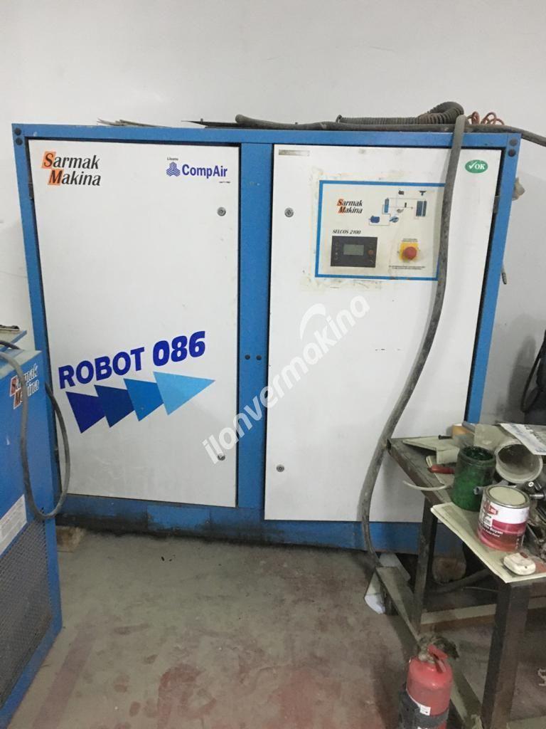SARMAK 086 ROBOT VİDALI KOMPRESÖR 45 KW