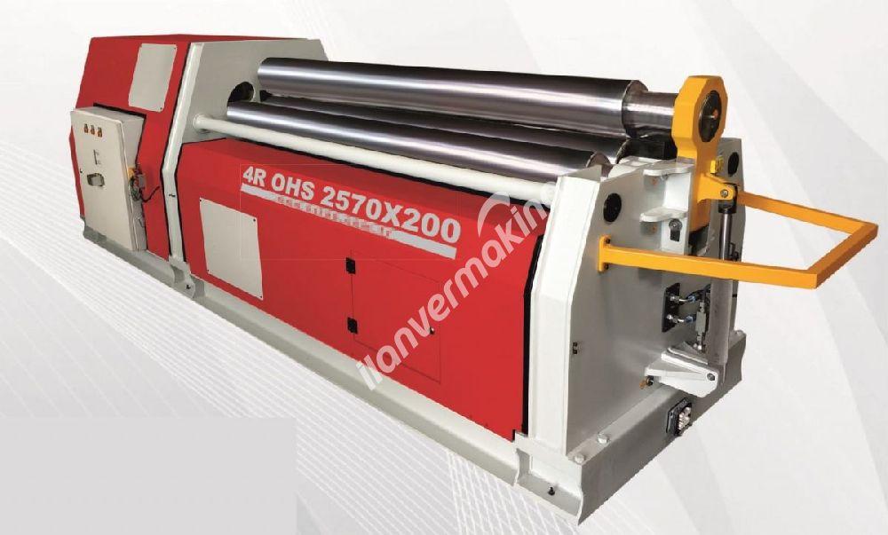 2570 x 200 x 4 Toplu Hidrolik Silindir Makinası - 4 batch Hydraulic cylinder