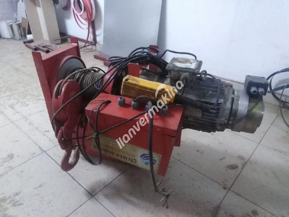 3 ton 4 hareketli elektrikli vinc