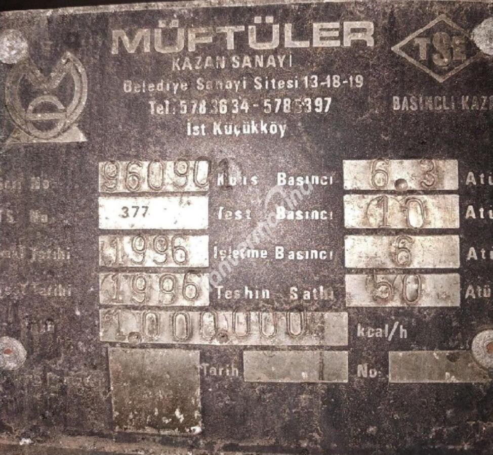 LPG, FUELOIL, KOMUR BUHAR KAZANLARI
