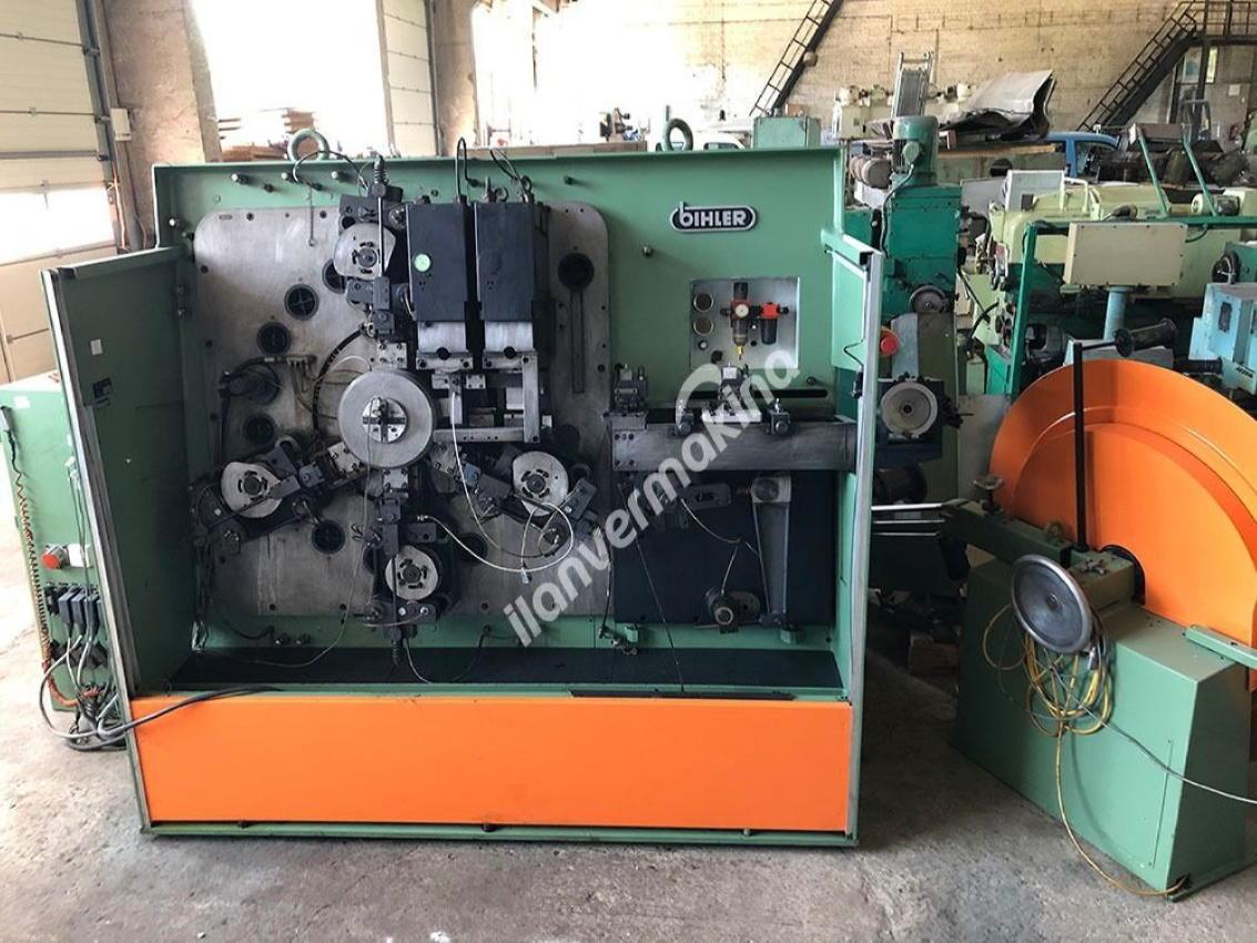 Şerit Sac Tel Bükme Makinesi