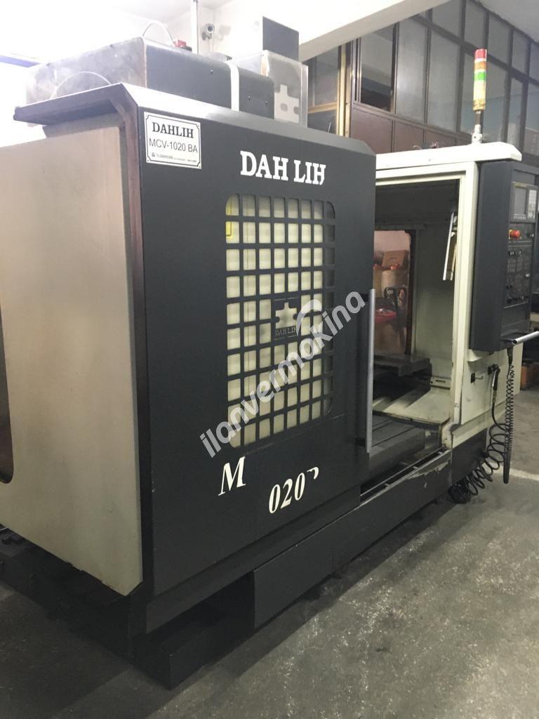 Dahlih MCV 1020BA Cnc Dik İşleme Merkezi