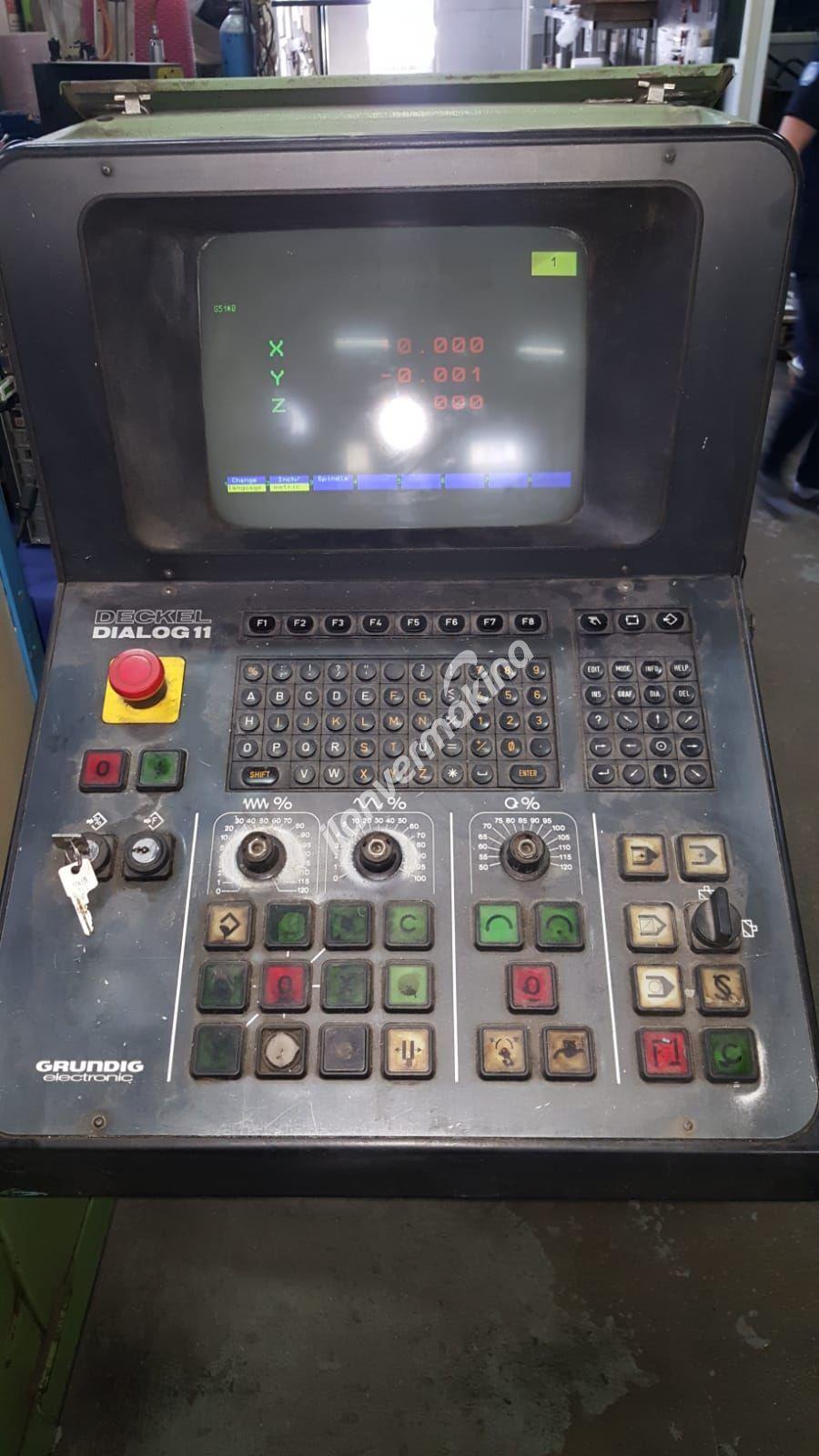 Deckel FP4CC CNC FREZE