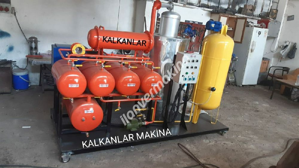 Used car oils recycling machine construction