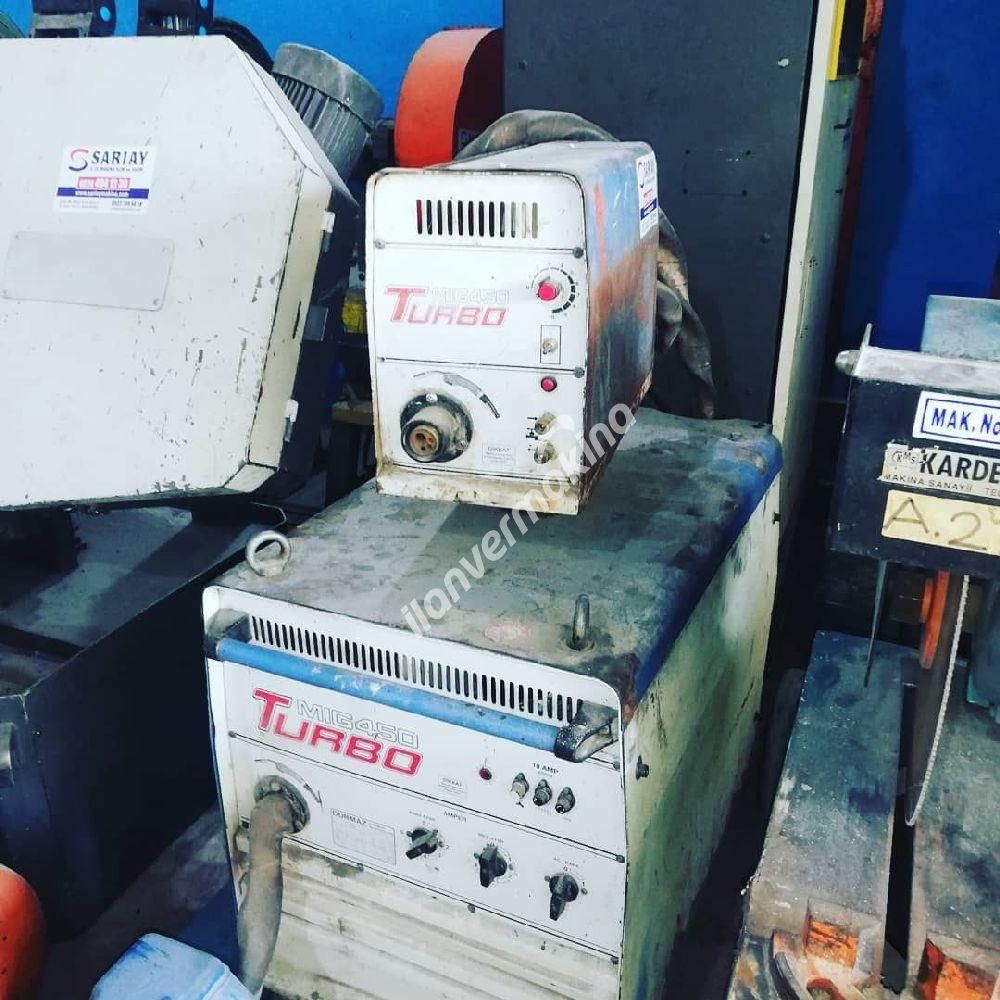 Durmaz Marka Gazaltı Kaynak Makinası 450 Amper Su Soğutmalı