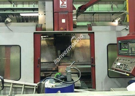 CNC Dik işleme Tezgahı