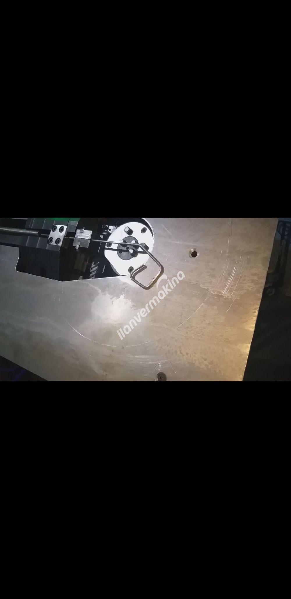 2D cnc tel bukme makinesi