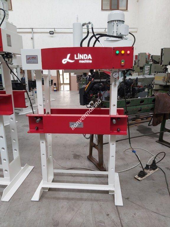 30 Ton Kollu Motorlu Linda Machine Hidrolik Atölye Presi