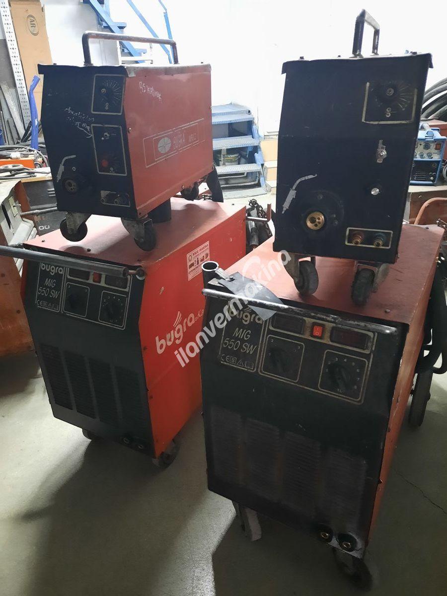 Gazaltı Kaynak Bugra 550 Amper